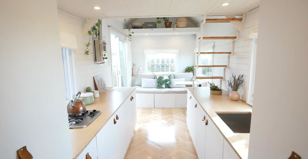 cute tiny house indoors