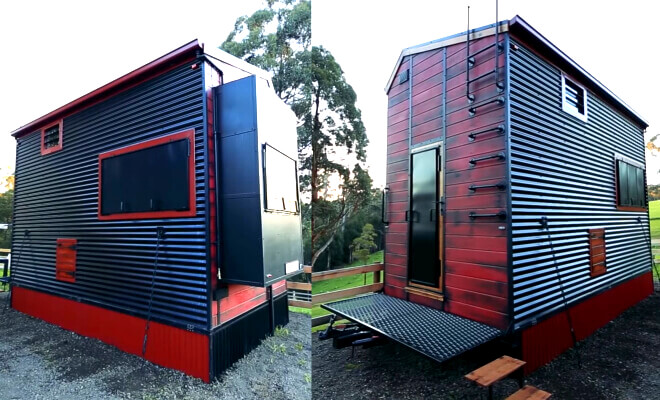 fire resistant tiny house