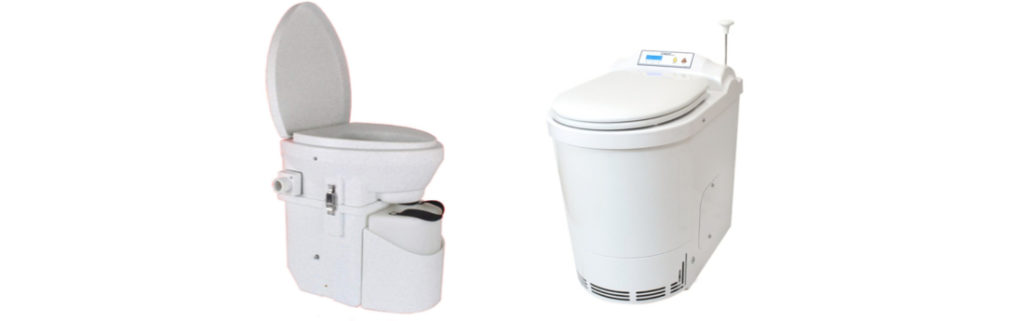 incinerating and composting toilet