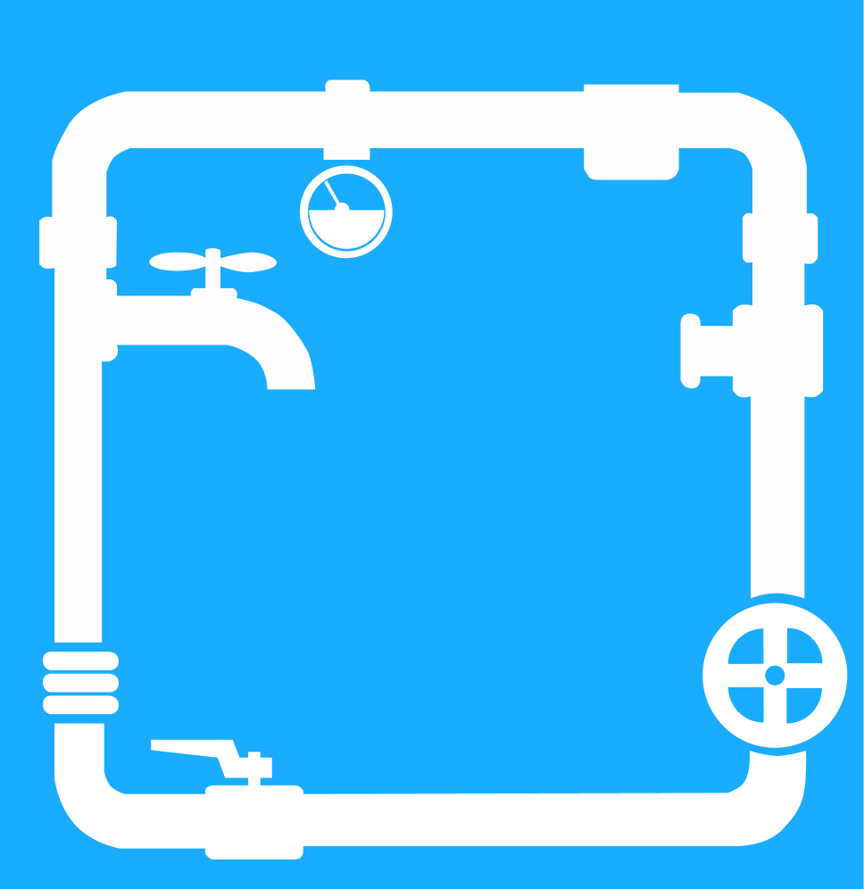 plumbing system illustrated